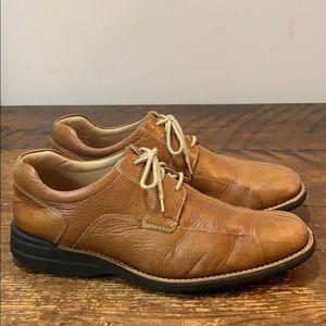 Johnston & Murphy Tan Derby Shoes  Size 10